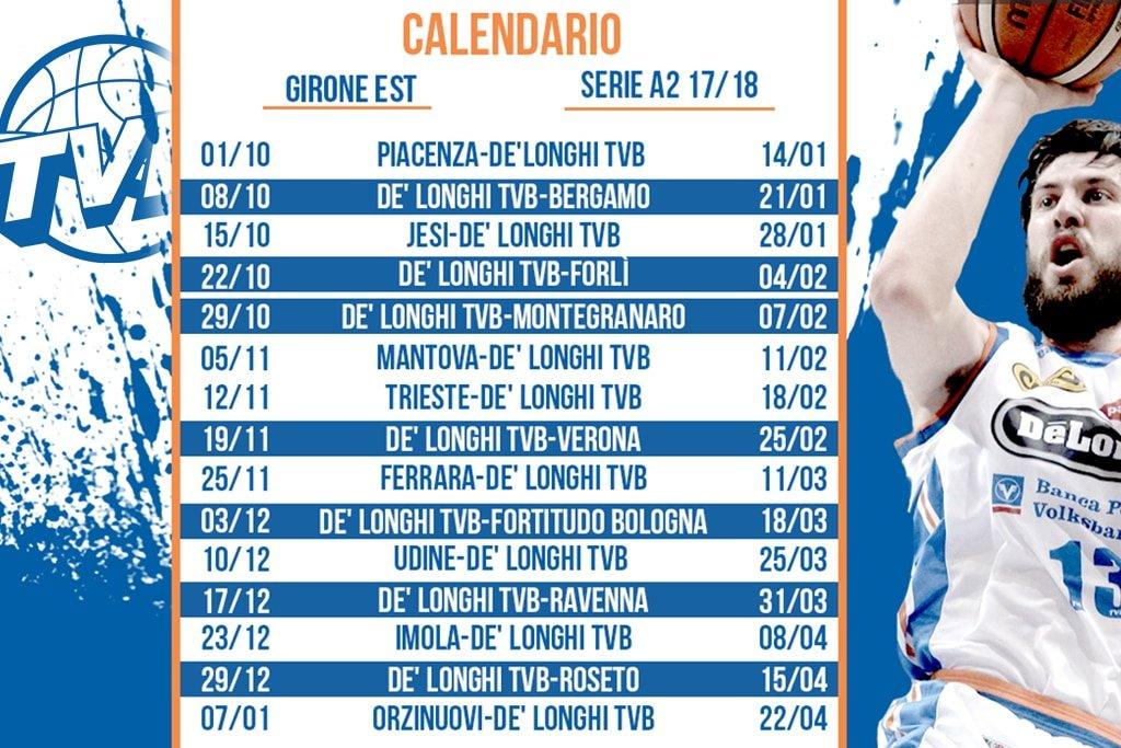 Calendario Serie A2 Basket.Il Calendario Della A2 Girone Est La Prima Fuori Casa A