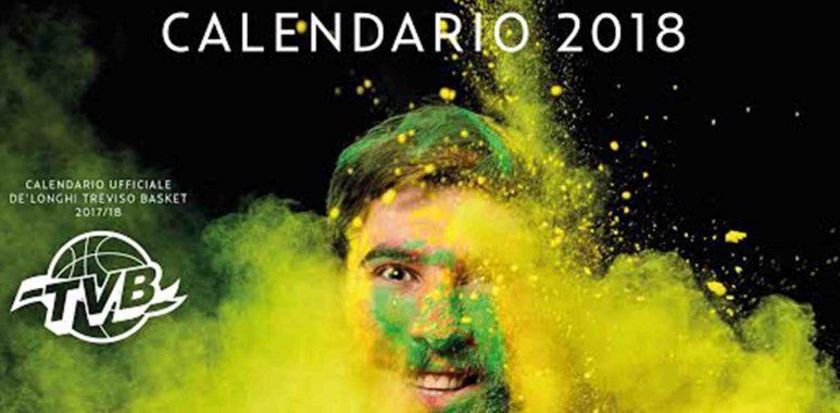 Treviso Basket Calendario.Il Calendario Benefico 2018 Di Treviso Basket Grazie A