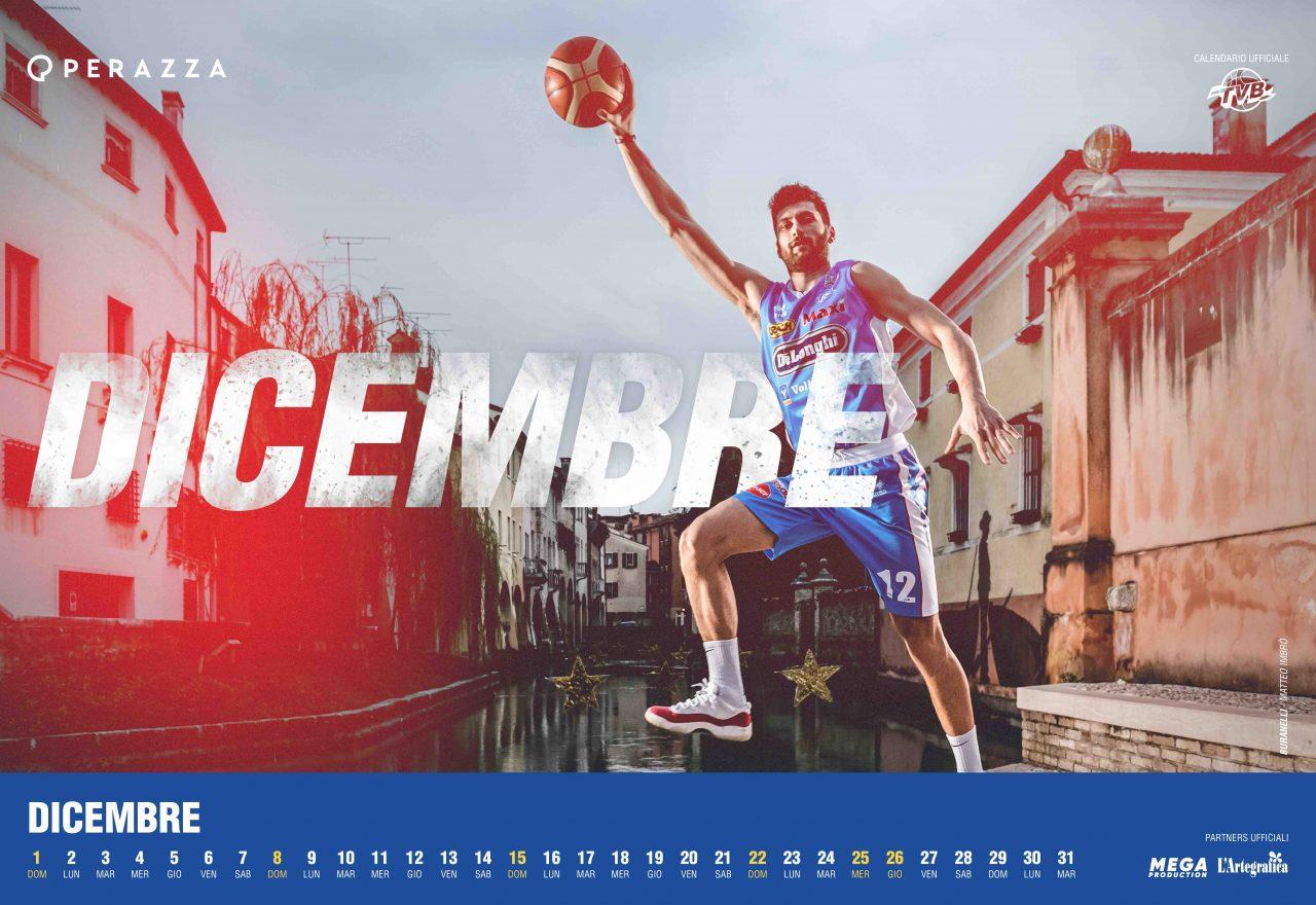 Atleti Calendario.Il Calendario Tvb 2019 Di Studio Perazza Treviso Basket