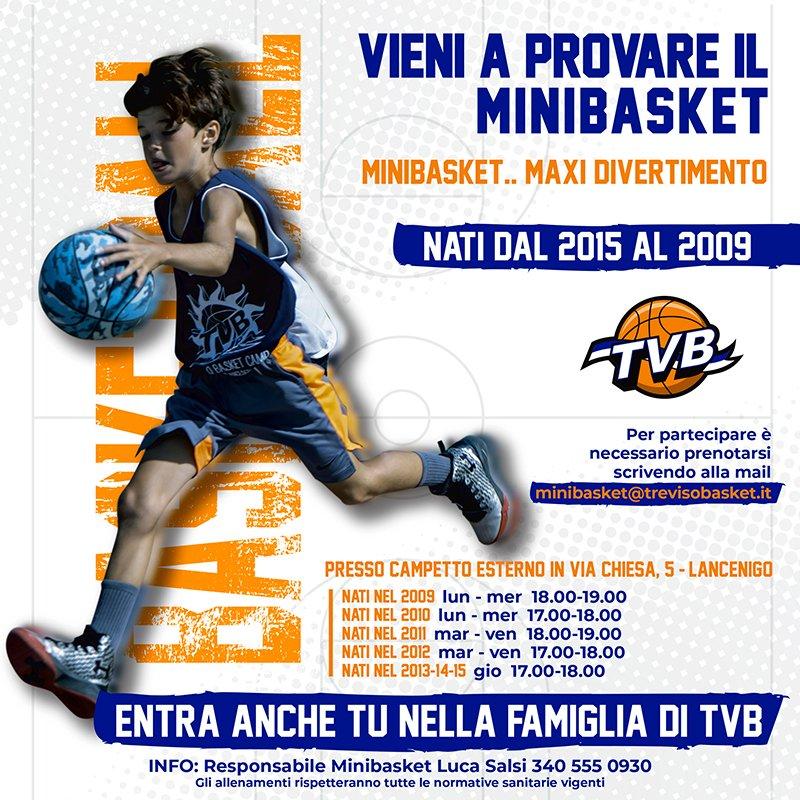 Banner MiniBasket 2020/21