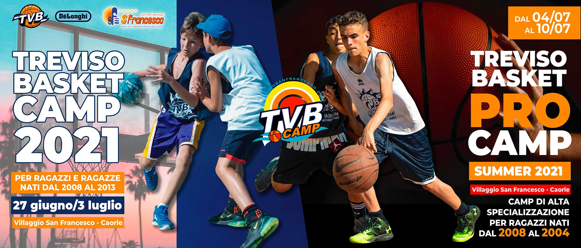 TVB Camp e TVB PRO Camp 2021
